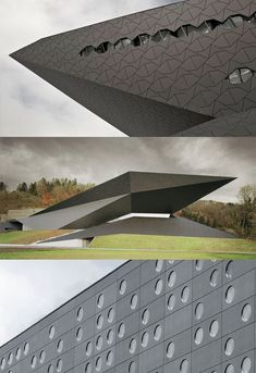 #DidYouKnow this facade was made with fiber cement panels that can be transformed into any size or shape?