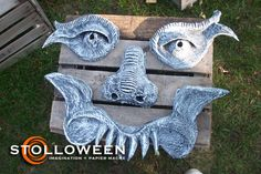 How To: Tree Faces | STOLLOWEEN