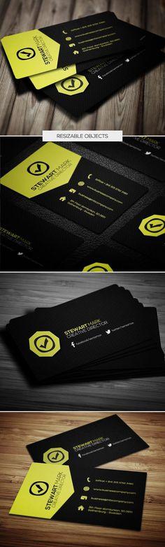 Modern Design Business Cards (25 Templates) - 7