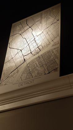 Detroit Art, Custom Framing, Contemporary, Canvas, Frame, Tela, Picture Frame, Canvases, Frames