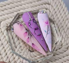 Matte Pink Nails, Amazing Nails, Athens, Fun Nails, Beautiful Flowers, Greece, Frozen, Nail Art, Recipes
