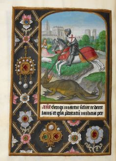 Add MS 35313 (the 'London Rothschild Hours' or the 'Hours of Joanna I of Castile)  http://www.bl.uk/manuscripts/FullDisplay.aspx?index=0ref=Add_MS_35313