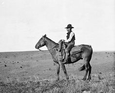 My favorite old cowboy photo. Erwin Smith early 1900's