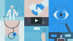 Explainer video promoting Inova's Continuing Medical Education activities and initiatives.  Client: InovaHealth Our role: Art Direction, Illustration, Animation.