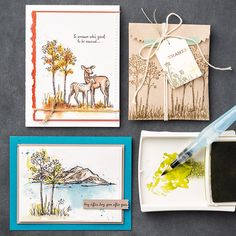 In the Meadow Clear-Mount Stamp Set by Stampin' Up!