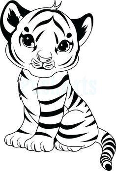 Ausmalbilder kostenlos tiger