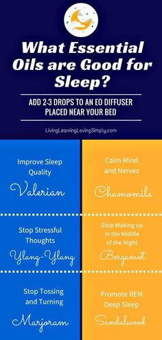 These six essential oils can have you sleeping like a baby. Pssst.....and none…