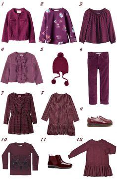 Especial tendencias moda niña: Los colores de la vendimia #trendalert #fashionkids