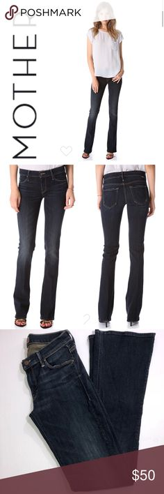 """Mother The Runaway Jeans 27x33 ✔️Color: Jaded ✔️Cotton•Lyocell•Elastane ✔️Inseam: 33.25"""" ✔️Excellent Used Condition ✔️1542-5 MOTHER Jeans"""