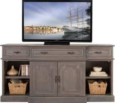 Chesterbrook Gray 72 in. Console . $599.99. 72W x 21D x 36.75H. Find affordable TV Consoles for your home that will complement the rest of your furniture.#iSofa #roomstogo