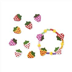 Biżuteria DIY jest idealna dla tych, którym znudziły się tradycyjne wyroby jubilerskie! #tigerpolska #tigerstores #truskawki #tigerberry #strawberries #biżuteria #jewellery #lato #summer