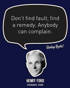 Find a remedy Henry Ford quote via www.Facebook.com/CareerBliss