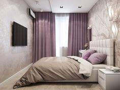 54 Ideas For Bedroom Ideas Guest Sleep Bedroom Green, Room Ideas Bedroom, Bedroom Colors, Bedroom Decor, Light Bedroom, Bedroom Curtains, Master Bedroom, Stylish Bedroom, Modern Bedroom
