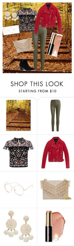 """First of Fall"" by graciejohnstone ❤ liked on Polyvore featuring Object Collectors Item, Needle & Thread, Andrew Marc, Full Tilt, Cynthia Rowley, Humble Chic and Bobbi Brown Cosmetics"