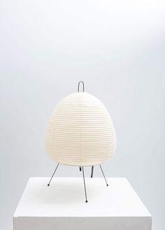 uploaded by cyndi Noguchi Lamp, Isamu Noguchi, Light Table, Lamp Light, Lamp Design, Lighting Design, Origami, Pottery Sculpture, Paper Lanterns