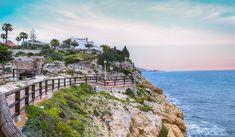 Tranquillity spring cliffs - Rincon de la Victoria, Costa del sol, Malaga, Spain