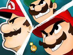 Mario and Luigi Paper Jam Parody by Drail72