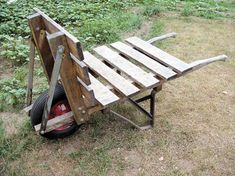 Reclaiming a Heavy Duty Wheelbarrow - Farm and Garden - GRIT Magazine be great for big bales of hay