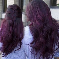 Violet burgundy hair hair 3 hair styles, dyed hair и hair Burgendy Hair, Hair Color Purple, Hair Color And Cut, Hair Colors, Ombre Hair, Balayage Hair, Pelo Color Borgoña, Dark Violet Hair, Dye My Hair