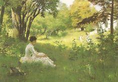 Имя с открытки - Albert Gustaf Aristides Edelfelt (1854–1905). Обсуждение на LiveInternet - Российский Сервис Онлайн-Дневников
