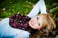 Beautiful Fall Senior Portraits in Murray, Utah
