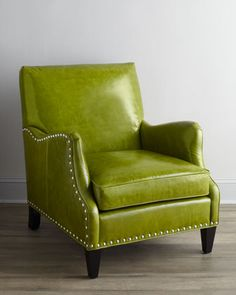 """What an AMAZING chair!!!  """"Alden"""" Leather Chair - Neiman Marcus"""