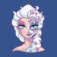 Sugar Skull Elsa