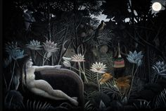 Inside the Unicorn dream. Story based on Henri Rousseau paintings. Idea: Joanna Adamkiewicz, gfx & motion Adam Szulc.