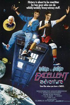 Crossvers salvajes: Doctor Who y Bill & Ted.