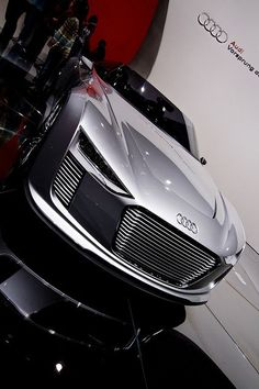 Yes Audi - I would like one please! Audi e-Tron Spyder Concept Car by PierrickBlons, via Flickr