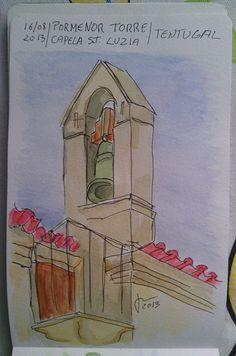 Pormenor Capela Santa Luzia - Tentugal