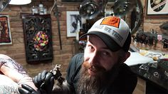 Herman Dinglemeyer from Schwarze Hand Tattoo in Kreuzberg is an experienced master of tattoo wizardry. Read his interview.