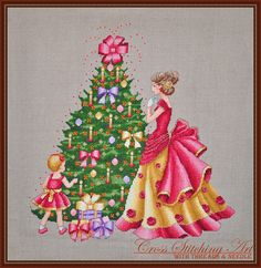 Joyful Time Christmas cross stitch pattern by Cross Stitching Art