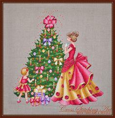 Joyful Time Christmas cross stitch pattern by Cross Stitching Art