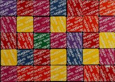 Nicolas NOVERRAZ                        Sérigraphie 40 Sugus Andy Warhol, Oeuvre D'art, Les Oeuvres, Periodic Table, Homemade, Artist, Periodic Table Chart, Home Made, Periotic Table