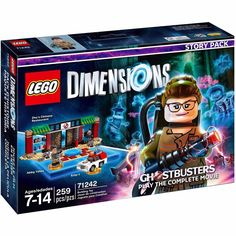 (NEW SEALED) LEGO DIMENSIONS STORY PACK GHOSTBUSTERS MOVIE BUILDING TOY 71242 #Lego