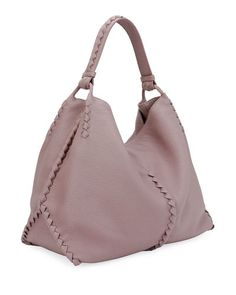 V3GHE Bottega Veneta Medium Deerskin Leather Hobo Bag
