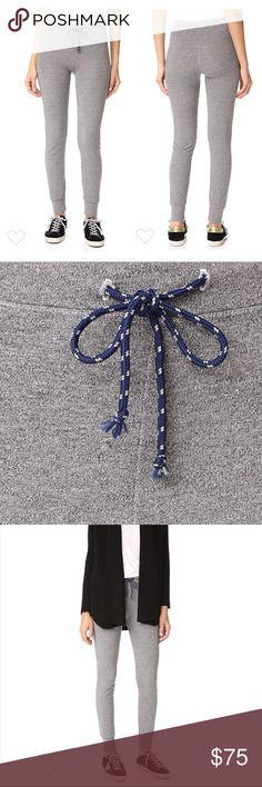Sundry Active Skinny Knit Sweatpants Super soft knit pants with cord drawstring. Size 0/XS Sundry Pants Track Pants & Joggers