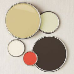 Whites, Coral, Charcoal #ColorPalettesWeLove