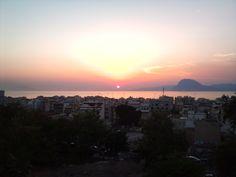 Sunset from Roman theater, Patras Greece