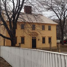 Daniel Webster House in Portsmouth, New Hampshire.