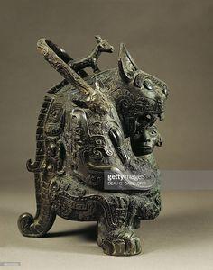 16th-11th Century B.C., France, Paris, Musee Cernuschi (Oriental Art Museum), Chinese art