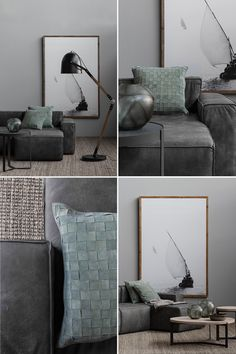 Detailed reverse stitching and soft Italian leather options makes the petite-proportioned Manhattan modular sofa fit for city living of the most sophisticated kind