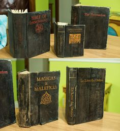 HOW TO: Old witchcraft books - HauntForum