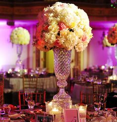 Beyond Stunning Ballroom Wedding Reception Designs From Yanni Design Studio. To see more: http://www.modwedding.com/2014/01/06/beyond-stunning-ballroom-wedding-reception-designs/ #wedding #weddings #reception