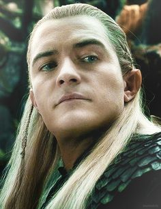Legolas..... Lol his face<<-- always lol to his face XD<<<whyyyy must he wear eyeliner?