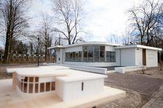 maquette en nieuwe situatie Praktijk Welschap na renovatie door Broeren|Das Bouwbedrijf