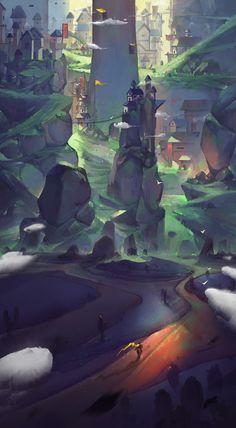 Return, Le Vuong on ArtStation at https://www.artstation.com/artwork/QabQE