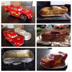 Gâteau anniversaire Flash Mc Queen