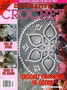 Decorative Crochet Magazines 64 - Gitte Andersen - Picasa Web Albums